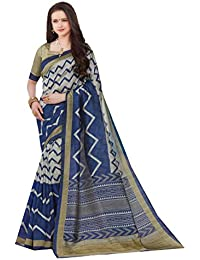 DESIGN WILLA Summer Cotton Saree New Collection(blue And Grey)