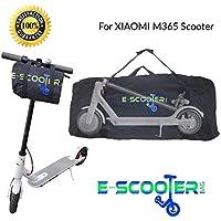 E-Scooter Bag Bolsa de Transporte para Xiaomi Mijia M365 para patinetes electricos Ecogyro Homcom para Transporte Patinete Plegable