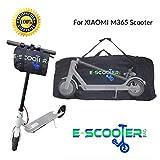 E-Scooter Bag Bolsa de Transporte para Xiaomi Mijia M365 para patinetes electricos Ecogyro Homcom...