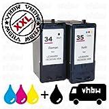 VORTEILSPACK Bundle Tintenpatronen Druckerpatronen Patronen Tinte Refill schwarz black & color...