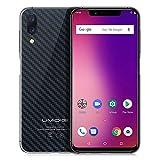 "UMIDIGI ONE Dual SIM 4G VoLTE Smartphone, 5.9"" 19:9 Cellulari, Android 8.1 Octa Core 2.0GHz, 4GB RAM 32GB ROM, 3550mAh Batteria, Fotocamera Tripla (16MP+5MP+12MP), Face ID Fingerprint (Nero)"