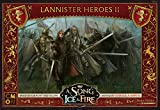 Image for board game CoolMiniOrNot CMNSIF210 Ice and Fire A Song of Ice & Fire: Tabletop Miniatures Game-Lannister Heroes II Box, Mixed Colours