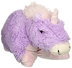 Pillow Pets Pee Wees Magical Unicorn 11 Comfy Cozy Chenille Purple - As Seen ON TV