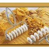 Zaseves Speedy Pasta Teigtaschenrad mit 8 verstellbaren Scheiben aus Nylon