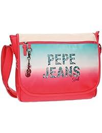 Pepe Jeans Nicole Mochila Escolar, 38 cm, 11.78 Litros, Multicolor
