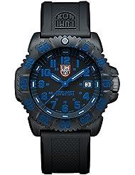Luminox 3053 - Reloj analógico de caballero de cuarzo con correa de plástico negra - sumergible a 200 metros