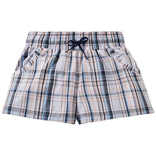 Schiesser Mädchen Mix & Relax Webshorts Schlafanzughose, Mehrfarbig (Multicolor 1 904), 152 (Herstellergröße: S) -