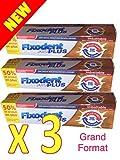 Fixodent - Fixodent Pro # Grand FORMAT 60 g # Duo Action - Crème adhésive premium...