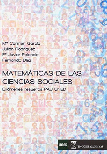 MATEMÁTICAS DE LAS CIENCIAS SOCIALES por Mª CARMEN GARCÍA