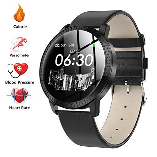 TJW Smart Pulsera Fitness Tracker, Rastreador Actividad con Monitor Ritmo Cardíaco Sueño,...