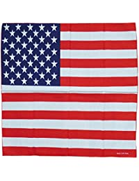 Multifunktionstuch USA Flagge Stars and Stripes rot weiss