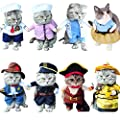 holitie Pet Funny Cat Costumes Clothing Dress Clothes Cosplay from holitie