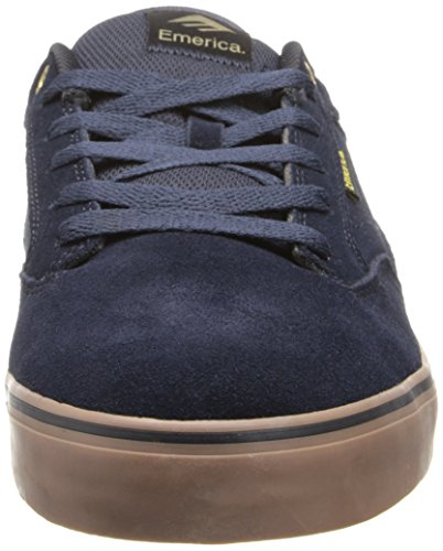 Emerica - The Jinx 2, Scarpe da skateboard da uomo Blu(navy/gum)