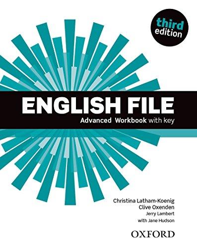 English File 3rd Edition Advanced. Workbook with Key (English File Third Edition) por Christina Latham-Koenig