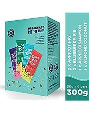 Yogabar Breakfast Protein Variety (Almond Coconut Apricot