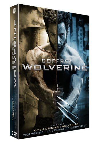 Coffret Wolverine : X-Men Origins: Wolverine + Wolverine : Le combat de l'immortel