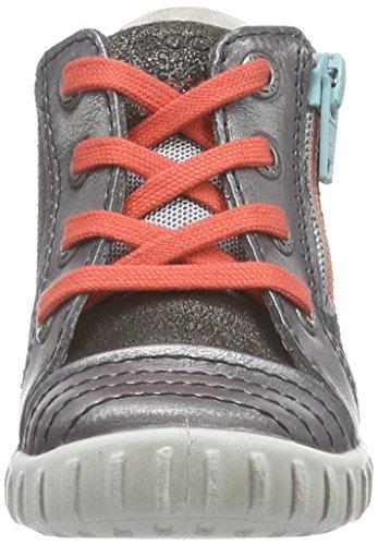Ecco Mimic, Chaussures Marche Bébé Fille Argent (alusilver/dark Shadow)