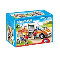 Playmobil - City Live Ambulance with Lights and Sound, Multi-Colour (6685)