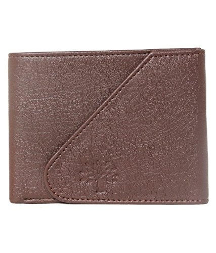 Woodland Leather Brown Casual Regular Wallet ##  available at amazon for Rs.199