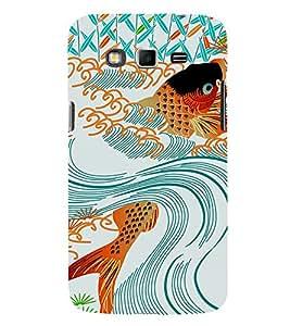 EPICCASE Gold Fish in Swirl Mobile Back Case Cover For Samsung Galaxy Grand Max (Designer Case)