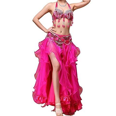 Freestyle Costumes - Bead Belly Dance Performance Katz Dancewear avec