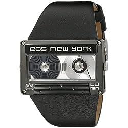 Eos New York Mixtape Watch schwarz / black Unisex Uhr im Kassettenlook Tape 302SBLK