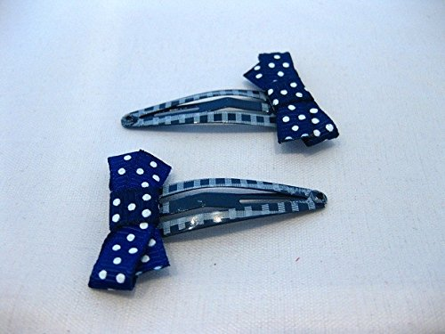 2 Pinces à cheveux avec papillons de couleurs