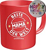 2535 Geburtstag Muttertag Tasse: BESTE MAMA