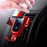 Chargeur Sans Fil Auto Voiture, Chargeur Auto sans Fil à Induction, Qi Air Vent...