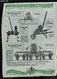 1 brochure publicitaire de Pulvérisateurs & Souffreuses : Pulvérisateur, Type 2869, Pulvérisateur à bras Type 2878, Pompe à Diaphragme, Pulvérisateur type 2877 bis.