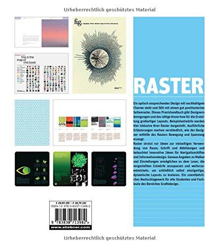 Raster - Kreative Lösungen für Grafikdesigner (mit CD)