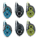 #1: Climberty 6 Pack 12 Meter * 5 mm Correction Tape Tear Resistant Correction Tape