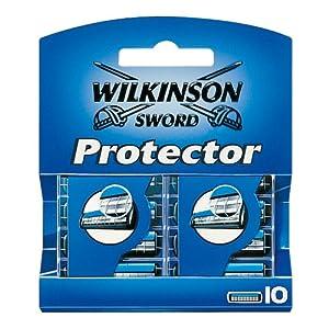 Wilkinson Sword Protector Rasierklingen für Herren Rasierer, 10 St