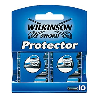 Wilkinson Sword Protector Rasierklingen für Herren Rasierer, 10 St (B000ORYFX2) | Amazon price tracker / tracking, Amazon price history charts, Amazon price watches, Amazon price drop alerts