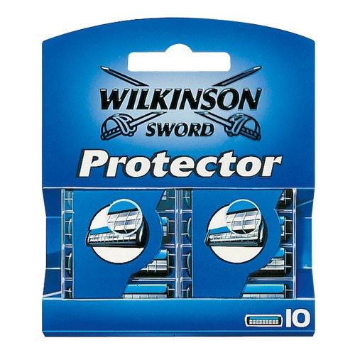 Wilkinson Sword Protector Rasierklingen für Herren Rasierer, 10 St - Klasse Protector