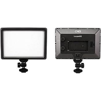 Andoer Luxpad22 Pro Ultra Slim 112-LED 11W LED Vidéo Light Pad / Elairage Flash Torche Lampe pour Canon Nikon DSLR Camera DV caméscope