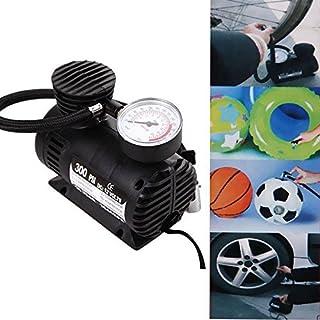 Wosonku 300 PSI 12V Car Auto Pump Tire Inflator Mini Air Compressor