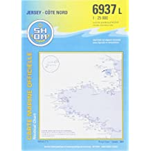 Carte marine : Jersey côte nord