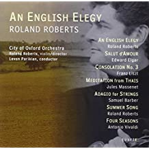 Roberts: An English Elegy by Roberts: vln/Parikian: cnd/C (2006-02-14)