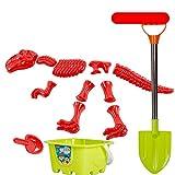 Siyushop Strand Spielzeug, lustige Kinder Strand Sand Spiel Spielzeug Set enthält Schaufel Würfel Sanduhr Kinder Strand Posing Spielzeug Rolle Spielen Spielzeug Tasche ( Color : D )