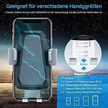 VANMASS-Automatisch-Wireless-Charger-Auto-Handyhalterung-Elektronisch-Motor-Betrieb-10W-Fast-Charging-Extra-Stabil-Lftung-Qi-Ladestation-Auto-fr-iPhone-XSX8-Galaxy-S10S10S9S8-Andere-Qi-Gerte