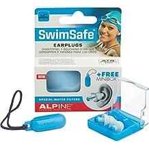 Alpine SwimSafe–Tapones para los oídos para natación agua & mantener fuera, libre miniboxx
