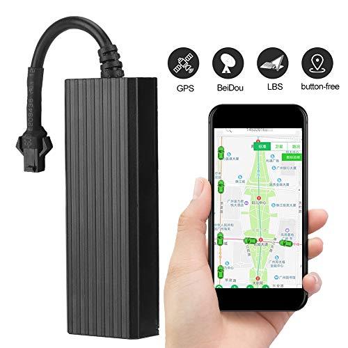 GPS Tracker, Echtzeit-Fahrzeugortung GPS/GSM/GPRS/SMS-Ortungsgerät für Auto, Motorrad, Fahrrad (Motorrad Gps Security)