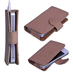 DSR Pu Leather case cover for Micromax Canvas L