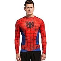 Cody Lundin Uomo Supereroe Manica Lunga T-Shirt Sport Fitness Training