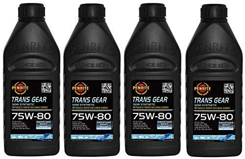 Penrite Trans Gear 75W-80 GL4 Olio Semi Sintetico per Ingranaggi, MTF94, 235.10, 4 Lit