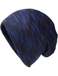 SHARBAY Sombrero de Gorrita Tejida de Invierno Unisex - Sombrero de Gorrita  Tejida de Lana Forrada 509f033e66e