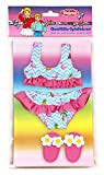 Heless 299 - Bikini mit Badeschläppchen, Flamingo, Größe 35-45 cm
