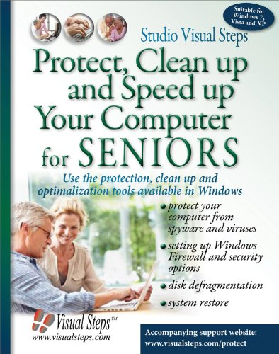 Protect, Clean Up and Speed Up Your Computer for Seniors por Studio Visual Steps