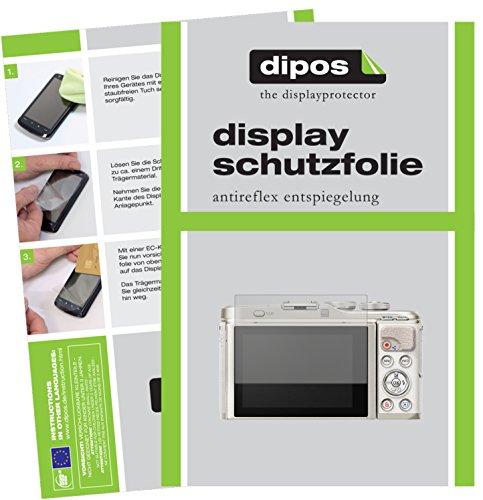 dipos I 6X Schutzfolie matt passend für Olympus Pen E-PL9 Folie Displayschutzfolie